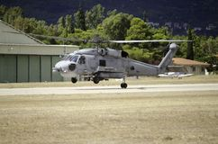 Sikorsky uh 60 navy front Royalty Free Stock Photos