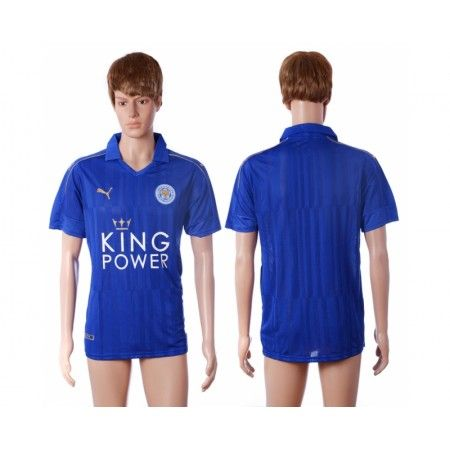 #Leicester City 16-17 Hjemmebanetrøje Kort ærmer,208,58KR,shirtshopservice@gmail.com