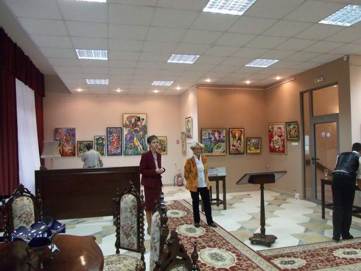 "Stela Vesa Exhibition – House-Gallery ""Princess Anastasia"" – Anastasia Art"