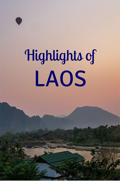 """If you're seeking a quieter Southeast Asian experience with fewer crowds, Laos is the answer. Get there before everyone else does (just don't ride their dreaded """"VIP"""" buses). Click to read the full blog post."""