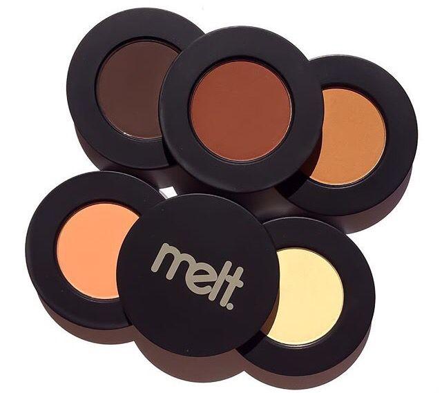 Melt Cosmetics rust Eyeshadow Stack luxury beauty products - http://amzn.to/2hu7dbB