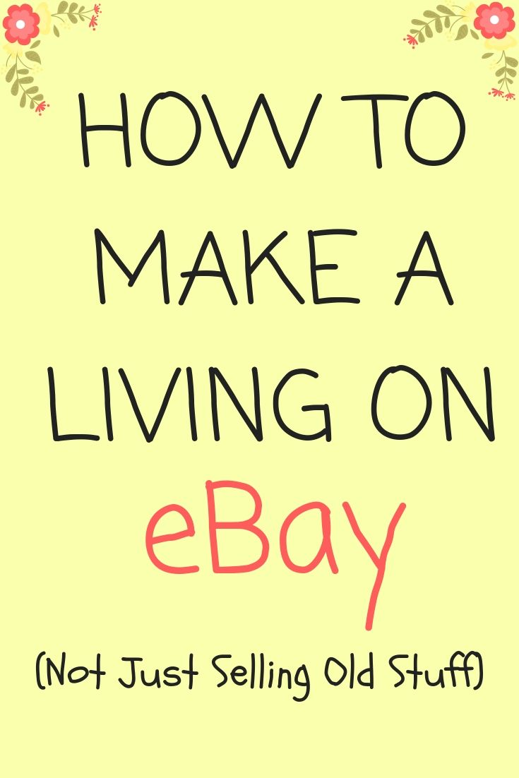 How To Earn A Regular Income On Ebay Ebay Selling Tips Making Money On Ebay Things To Sell