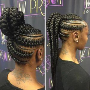 Sensational 1000 Ideas About Black Braided Hairstyles On Pinterest Black Short Hairstyles Gunalazisus