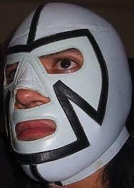 Mascara de Pantera Azul 1