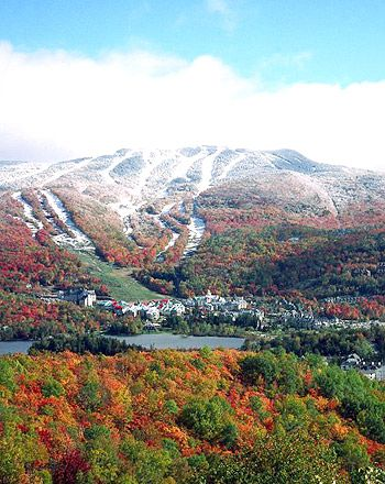 Great memories here, time of my life in 2009 - Mont Tremblant, Quebec, Canada