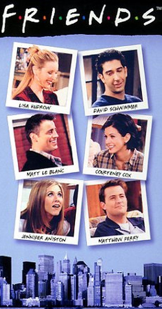 Created by David Crane, Marta Kauffman.  With Jennifer Aniston, Courteney Cox, Lisa Kudrow, Matt LeBlanc. Follows the lives of six 20-something friends living in Manhattan.