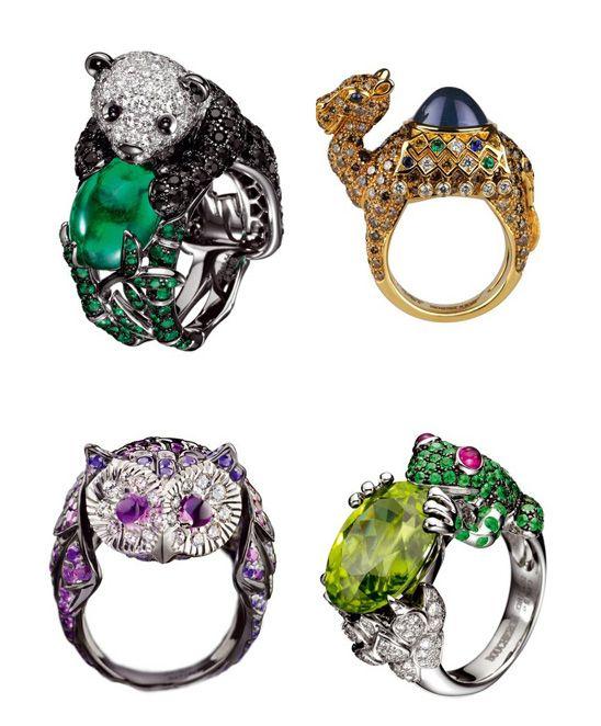 Anéis de Animais Boucheron