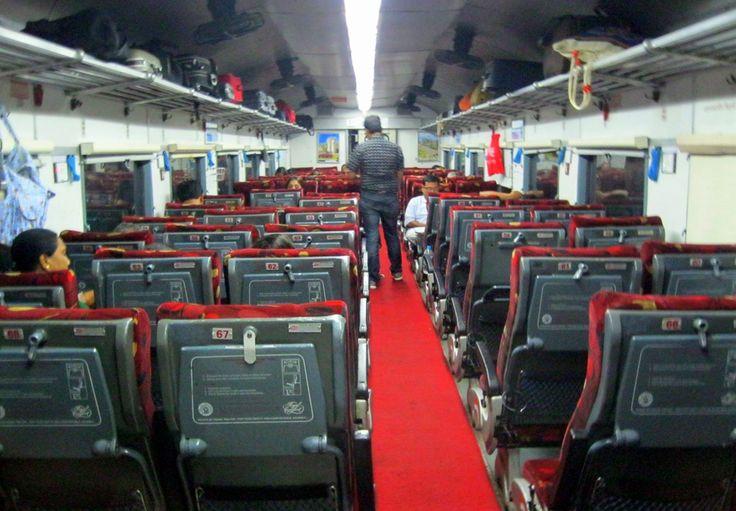 En Inde, des trains de type Shatabdi permettront aux passagers de surfer sur le net pendant leur voyage ...
