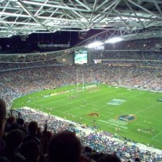 Sydney Olympic Stadium - Canterbury Bankstown Bulldogs home ground