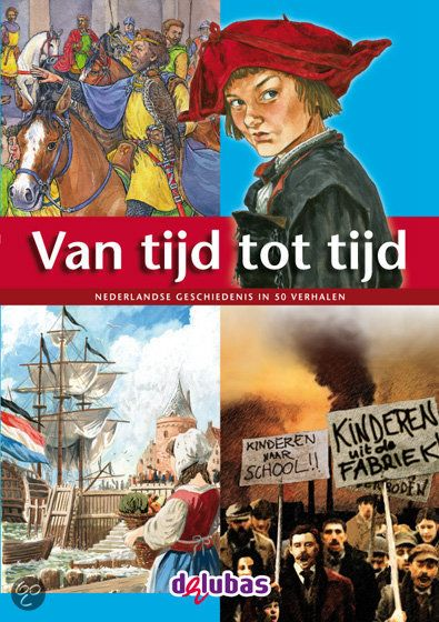 Van tijd tot tijd (2012) is een verhalenbundel met 50 spannende verhalen. Elk verhaal sluit aan bij een van de 50 vensters van de canon van de Nederlandse geschiedenis.