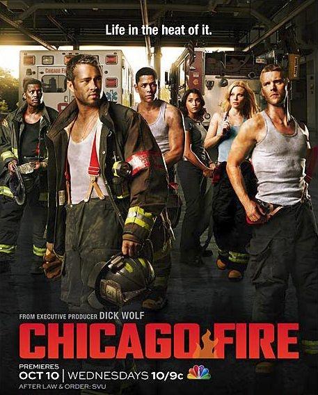 Poster Chicago Fire Season 1-NBC