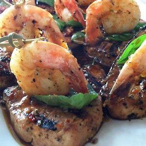 Shrimp-Entree