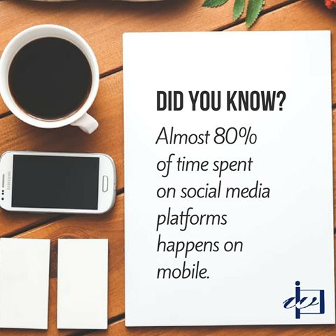The future of #socialmedia is mobile - Are you ready?  #mobilemarketing #SMM #Weblinkindia #DidYouKnow