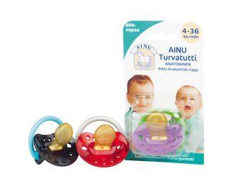 Ainu Turvatutti 4-36 kk  http://www.ainu.fi/tuotteet/ainu-turvatutti-4-36-kk