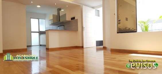 Comparte la Felicidad  de tu familia en este  Exclusivo Departamento 1° PISO en RESIDENCIA Este departamento DE LUJO  lo tiene todo! Una cocina AMERICANA con mesada de granitos, cocina ... http://trujillo.evisos.com.pe/comparte-la-felicidad-de-tu-familia-en-este-exclusivo-departamento-1a-piso-en-residencia-id-644079