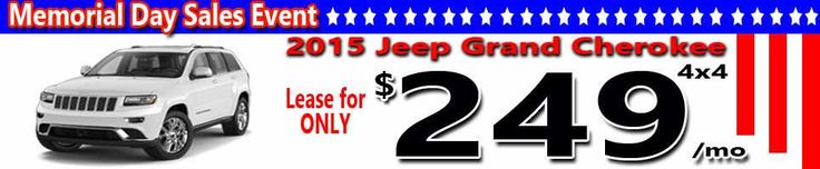 memorial day lease deals 2017