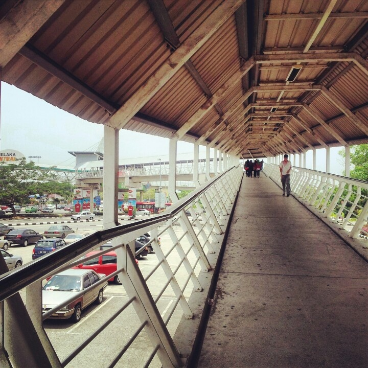 Stairs from Sentral to Tesco