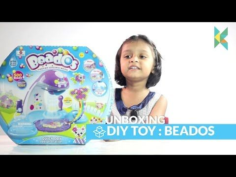 Beados Magic Beads Quick Dry Design Station Unboxing opening, Review and Play : Kyrascope shopkins - YouTube