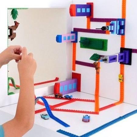 transforme a decoração de casa com Lego