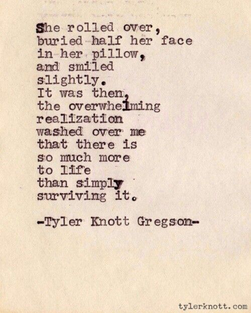 Poetry inspiration... Tyler Knott Gregson.