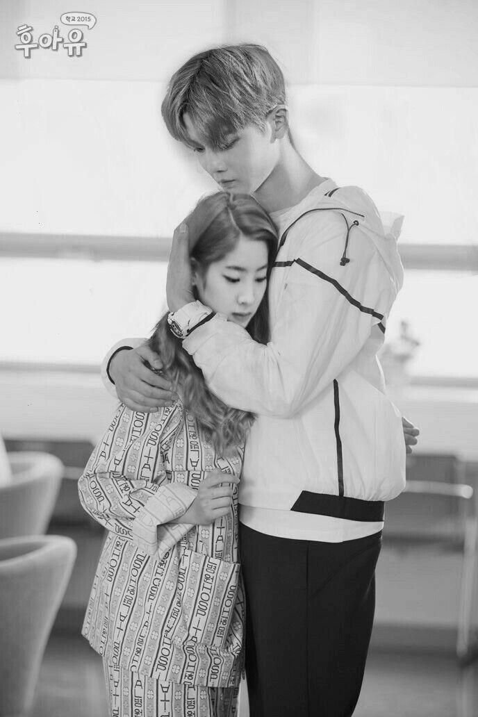 Baejin and dahyun