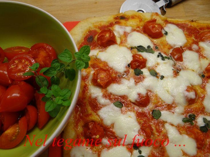 Pizza con grano saraceno - ricetta senza glutine -