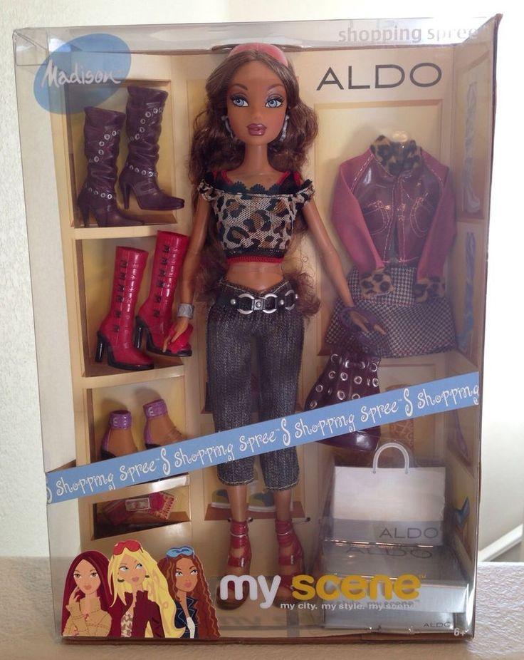 My Scene- Shopping Spree Aldo Madison Doll   Best Hangouts ...