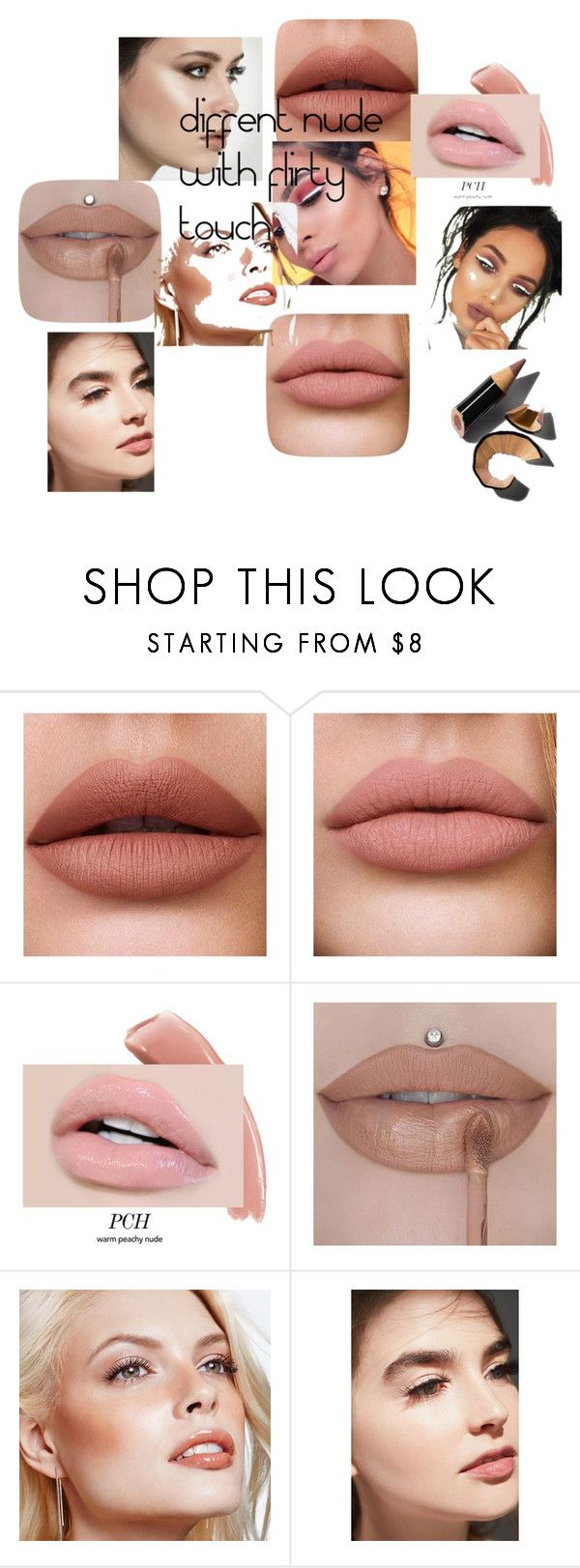 """""""nude with flirt"""" by manushi-malik ❤ liked on Polyvore featuring beauty, Avon, Jane Iredale and Bobbi Brown Cosmetics"""