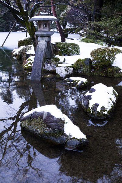 Snow. gardenGardens Etc, Kenrokuen Japan, Gardens Japanese, Japan Ishikawa, Snowy Gardens, Japanese Gardens, Japan Gardens, Snow Gardens, Ishikawa Kanazawa