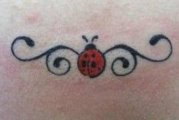 tatouage coccinelle