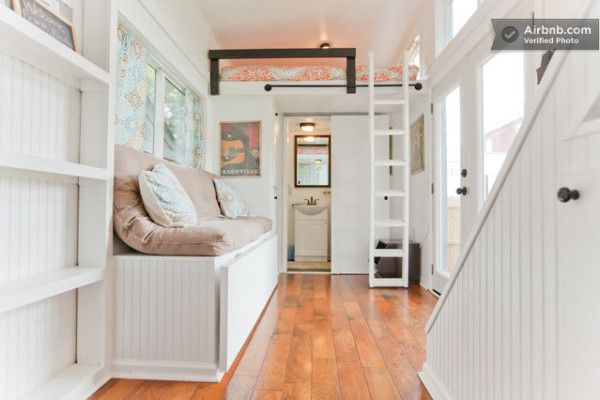 Wondrous Family Builds Music City Tiny House 11 600X400 Family Builds Music Largest Home Design Picture Inspirations Pitcheantrous