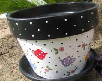 CUPCAKE Flower Pot by bubee on Etsy