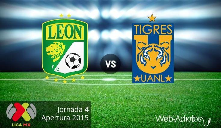 León vs Tigres, Fecha 4 del Apertura 2015 ¡En vivo por internet! - http://webadictos.com/2015/08/12/leon-vs-tigres-apertura-2015/?utm_source=PN&utm_medium=Pinterest&utm_campaign=PN%2Bposts
