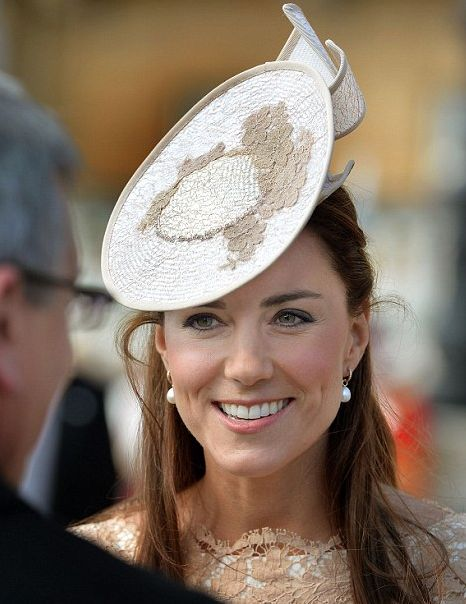 Catherine at the Garden Party at Buckingham Palace 6/10/2014