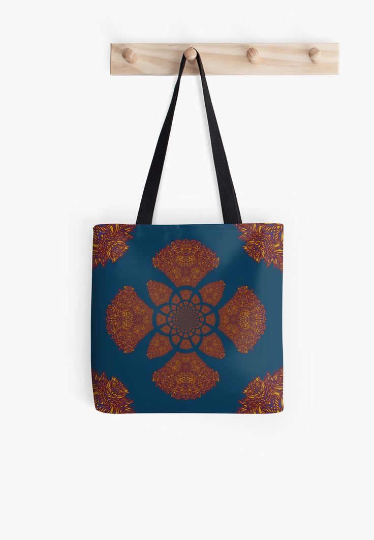 Slav kaleidoscope tote bag