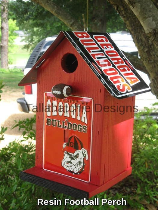 30% OFF TODAY Georgia Bulldogs Birdhouse by TallahatchieDesigns