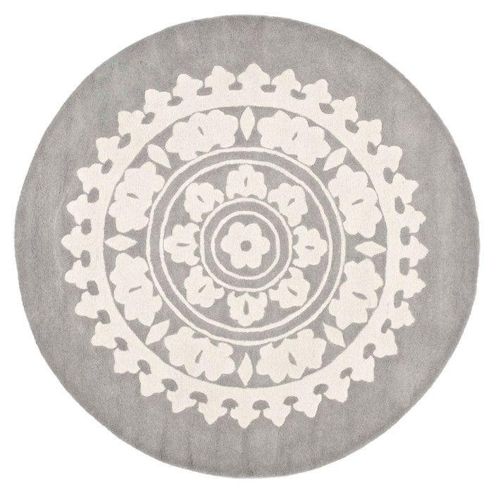 diana round rug j