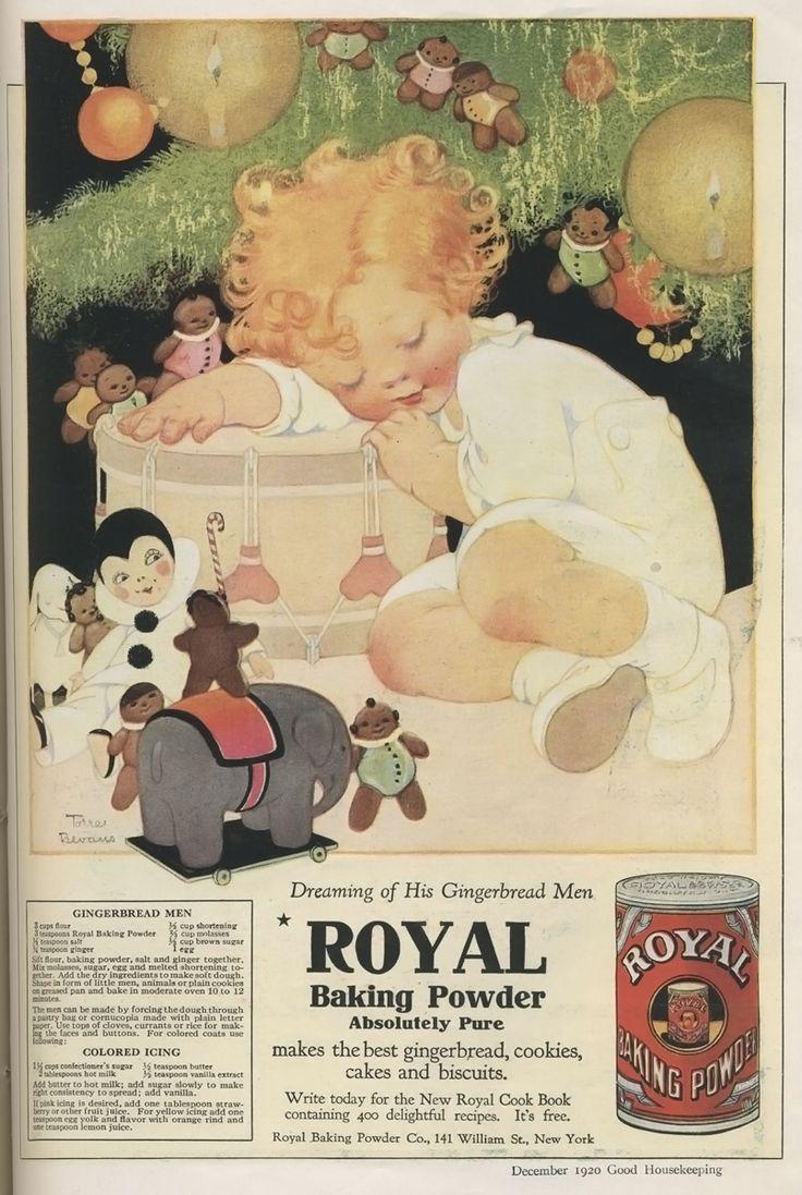 Vintage bathroom ads - Adorable December 1900 Christmas Ad For Royal Baking Powder