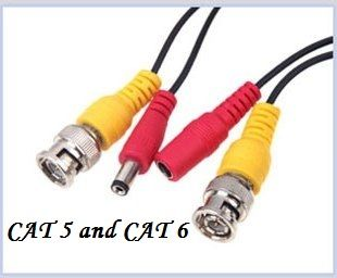 For CCTV cameras, having best cable wires are highly essential. Both Cat5 and Cat 6 cables are one of the two most categories of cable; helping CCTV cameras to receive appropriate energy.