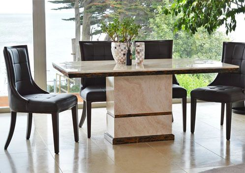 Marcello, marble, dining table rectangular