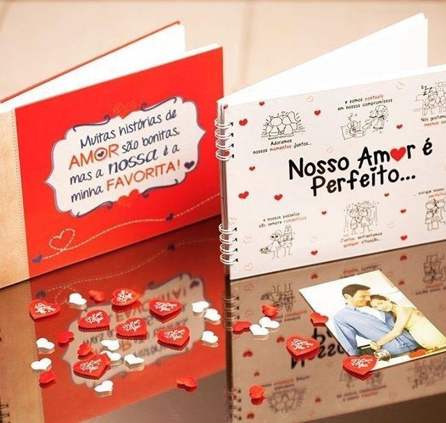 Olha quem voltou pra loja!!!! 🎊🎉 Scrapbook História de Amor e Scrapbook Amor Perfeito - R$ 49,00 (cada) 👉 www.apaixonandos.com