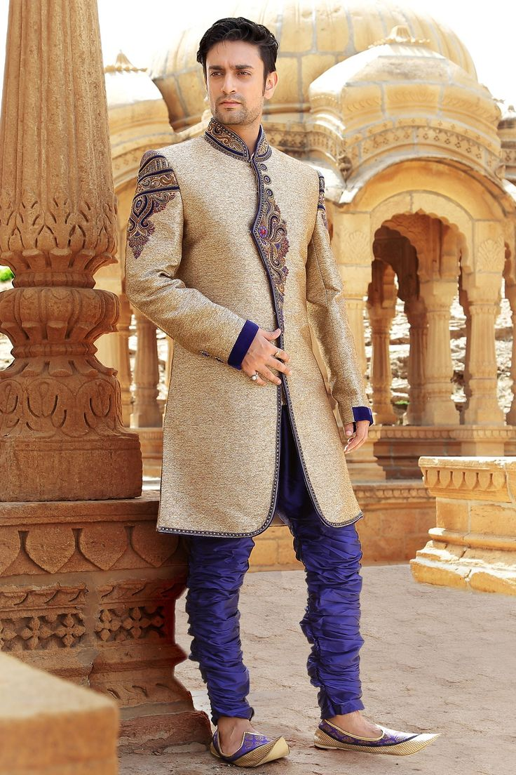 Marriages are made in heaven and its only right that you look like prince in your wedding day. Samyakk brings you latest wedding wear - http://bitly.com/10d7Jiy