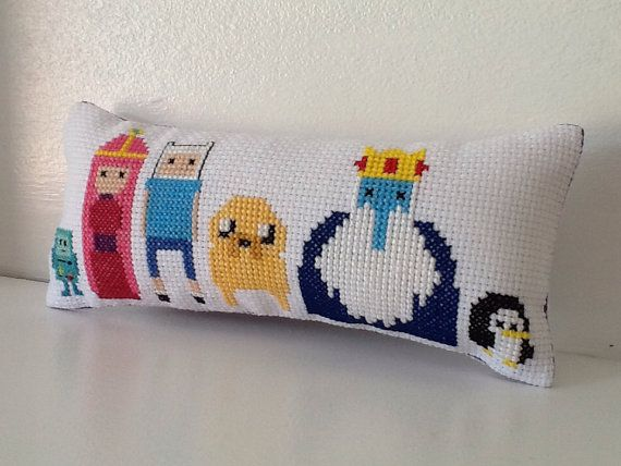 Adventure Time Cross Stitch Mini Cushion PDF by PixelDragon, £4.00