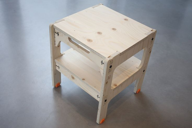 Table made with CNC machine and 3D printer
