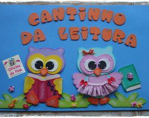Painel CANTINHO DA LEITURA