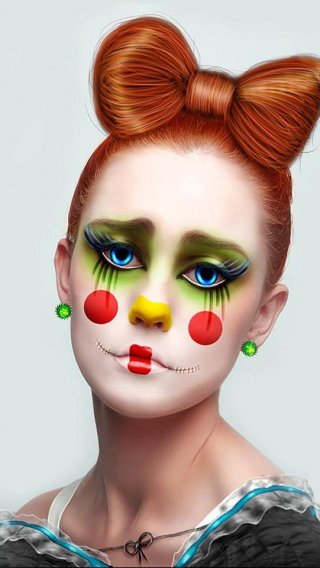 Best 25+ Clown Hair Ideas On Pinterest | Girl Clown Costume Clown Makeup And Halloween Clown