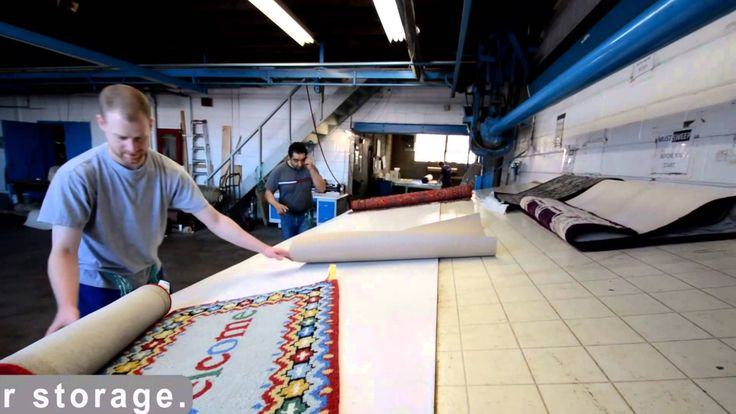 After drying the washed rugs at plant, by 5star.cleaning in Toronto