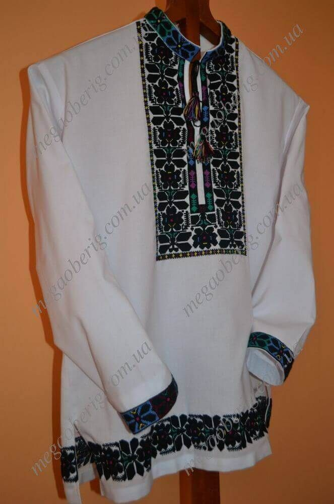 Чоловічі вишиванки схеми купити  52217e3ccf73b