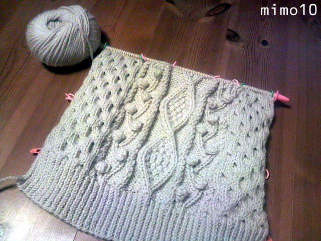 編み図: つれづれきまぐれいろいろ excelで作成した.