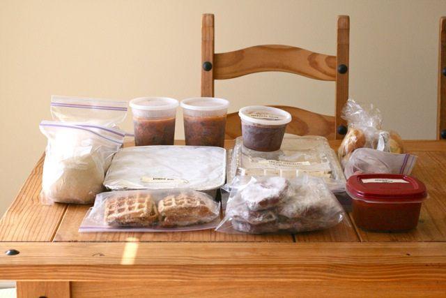 Stocking the Freezer – Make Ahead Meals